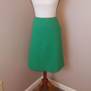 Talbots women's green skirt with pockets size 12w